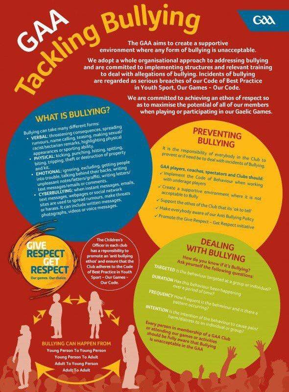 GAA Tackling Bullying