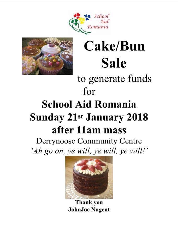 Cake/Bun Sale