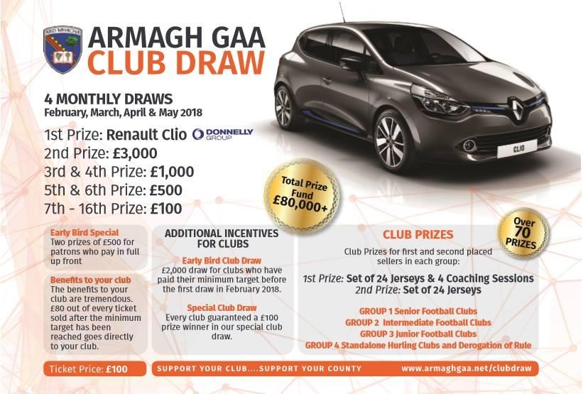 Armagh GAA Club Draw