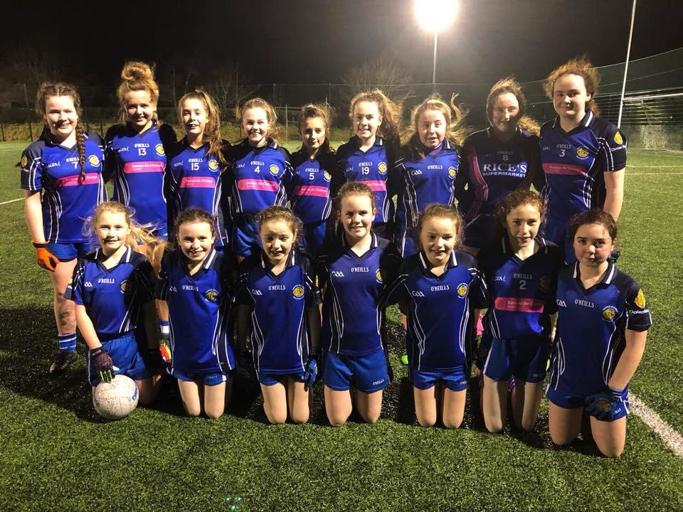 U14 ladies football