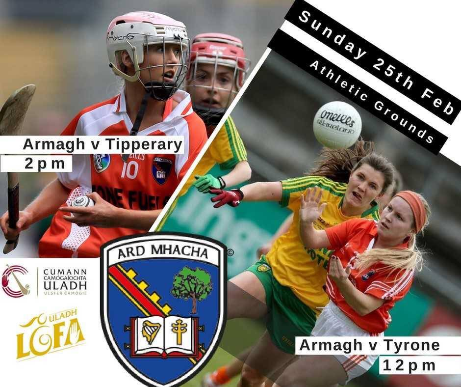 Armagh teams in action