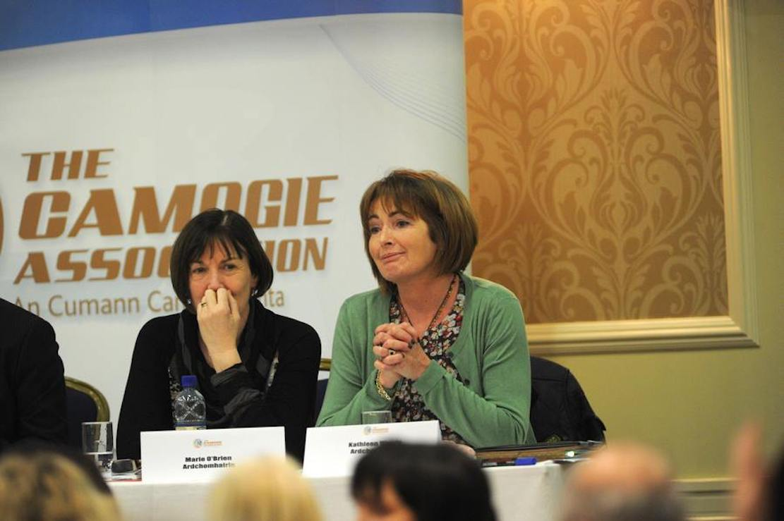 Derrynoose woman to become first Armagh-born president of Camogie Association