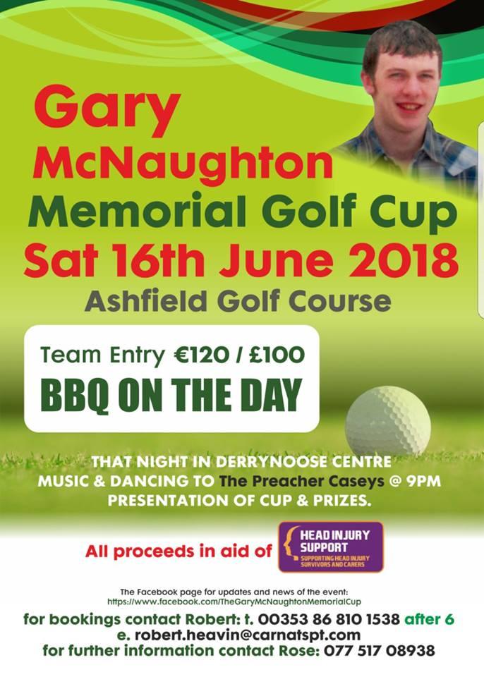 Gary McNaughton Memorial Golf Cup
