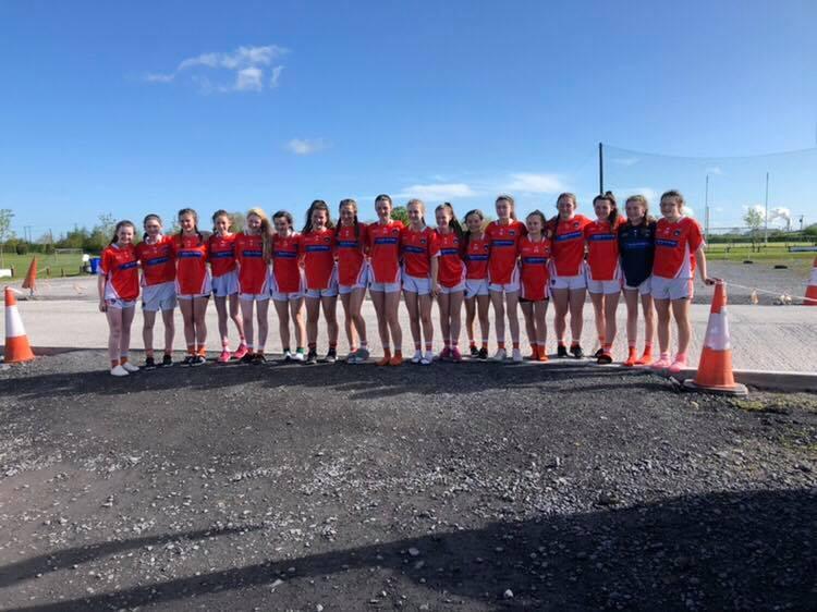 Armagh u14 ladies footballers